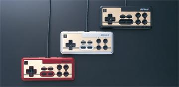 バッファローコクヨサプライ レトロ調USBゲームパッド BGCFC801シリーズ
