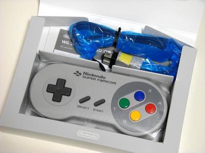 Wii スーパーファミコン クラシックコントローラ